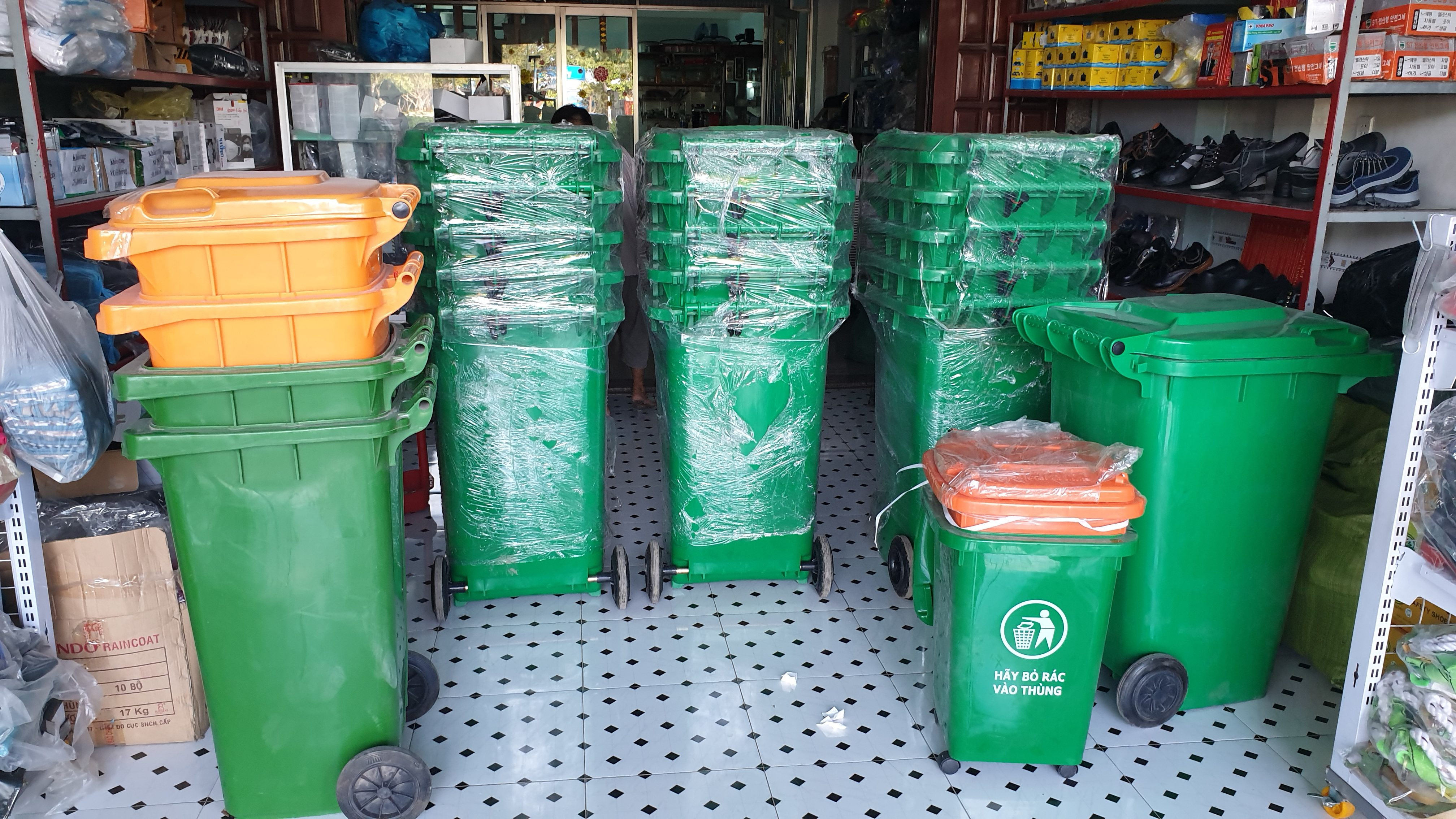 thùng rác nhựa đà nẵng